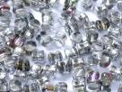 #15 - 25 Stck. PRECIOSA Pellet™ 4x6 mm chrystal vitrex