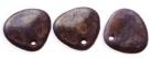 #03b 50 Stck. Rose Petals 8*7mm -  tanzanite copper picasso