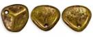 #06a 50 Stck. Rose Petals 8*7mm -  yellow bronze picasso