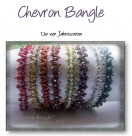 Pattern Chevron Bangle bracelet - english version - pdf-file