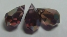 1 facetierter Tropfen 6x10 mm Amethyst Celsian