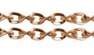 1 m Gliederkette Ø ± 5x4mm red copper