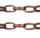 1 m Gliederkette Ø ± 3,8x6,9mm red copper