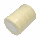 1 Rolle Organzaband - goldgelb - 20 mm