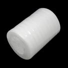 1 Rolle Organzaband - weiß - 10 mm