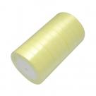 1 Rolle Satinband - hellgelb - 16 mm