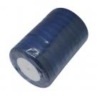 1 Rolle Organzaband - dkl. blau - 10 mm