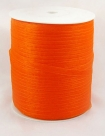 10 m Organzaband - orangerot - 6 mm