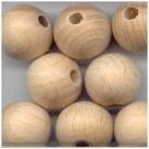 10 Stück Holzkugeln ca. 15 mm