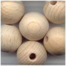 10 Stück Holzkugeln ca. 18 mm