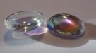 #16 - 1 Cabochon 18x13x7mm (LxBxH) - crystal AB