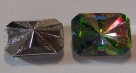 #17 - 1 Cabochon facetiert 18x13x7mm (LxBxH) - crystal multicolo