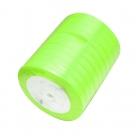 1 Rolle Satinband - neon green - 06 mm