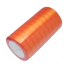 1 Rolle Satinband - orange - 20 mm