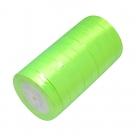 1 Rolle Satinband - neongrün - 20 mm