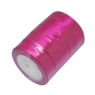 1 Rolle Satinband - fuchsia - 25 mm