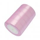1 Rolle Satinband - rosa - 25 mm