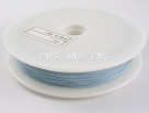 1 Rolle Tiger Tail nylonummantelt 0,38 mm - sky blue - 70m