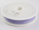 1 Rolle Tiger Tail nylonummantelt 0,38 mm - lt purple - 50m