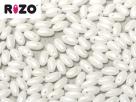 #02.11 10g Rizo-Beads white hematit coating