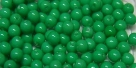 #78 1 Strang - 4,0 mm Glasperlen - green turqu. paint coating (±120 Stück)