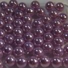 #07 20 Stück - 6,0 mm Glaswachsperlen - lilac
